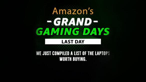 Amazon Grand Gaming Days Sale